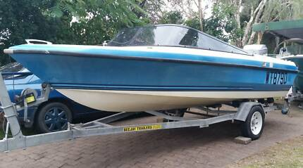 "Command Craft 17"" ski boat Burleigh Waters Gold Coast South Preview"