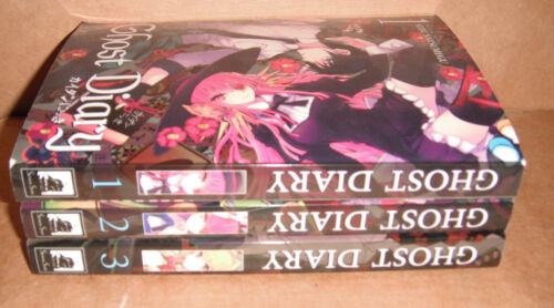 Ghost Diary Vol. 1,2,3 Manga Graphic Novels Complete Set English