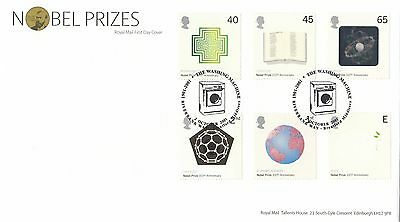 (99655) GB FDC Nobel Prizes Washing Machine Brentford 2 Oct 2001 on Lookza