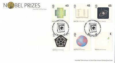 (99655) GB FDC Nobel Prizes Washing Machine Brentford 2 Oct 2001 on Lookza