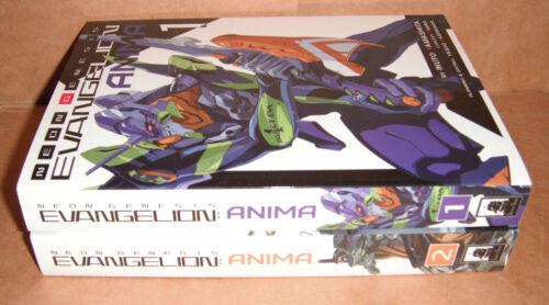 Neon Genesis Evangelion: ANIMA Light Novels Vol. 1,2 English