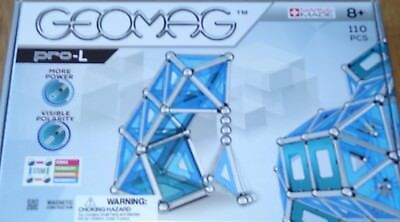 Geomag Pro-L Magnetic Construction Building Toy with Panels Ages 8+ #024