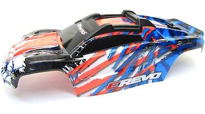 1/10 BRUSHLESS E-REVO 2.0 VXL BODY shell (Orange cover Painted Traxxas 86086-4 for sale  Shipping to India