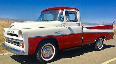 1957 Dodge Other Pickups  DODGE 1957 SWEPTSIDE 84K MILES CA TRUCK 0 RUST 315 V8 POLY HEMI VERY RARE !