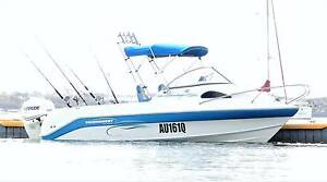 2011 TOURNAMENT 1750 Cuddy Cabin 130hp Offshore Boat Fishing Ski Ashgrove Brisbane North West Preview