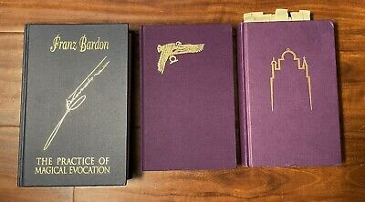 Franz Bardon's Trilogy Rare Hermetics Alchemy Theory and Practice Books