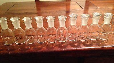 Laborflaschen Apothekerflaschen 50 ml mit Stopfen