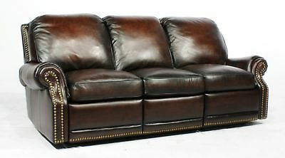 Canora Grey Timmie Leather Reclining Sofa