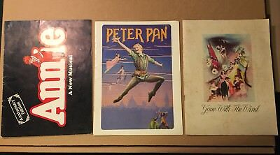 Gone With The Wind, Annie, Peter Pan Vintage Program Lot 1939 Sandy Duncan