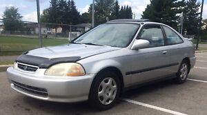 Honda Civic Si 1998 Manuel •144k km•