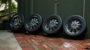 18 inch rims and tyres Kallista Yarra Ranges Preview