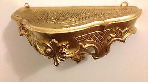 details about wandkonsole antik wandregal 30x16x12 cm badregale barock. Black Bedroom Furniture Sets. Home Design Ideas