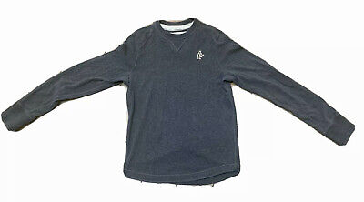 Abercrombie & Fitch Men's Long Sleeve Gray Shirt Size Med. Excellent Condition