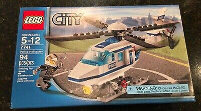 LEGO 7741 City Police Helicopter - New & Factory Sealed!