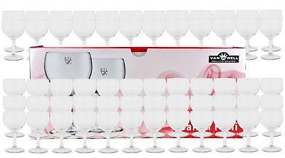 60er Set - Weinkelch 19cl geeicht Weinglas Rotwein Weißwein Dinner Gläser