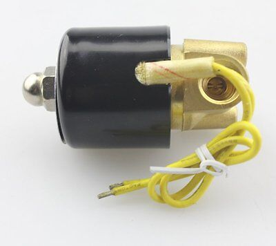 14 Ac110v Electric Solenoid Valve Npt Brass Normally Closed For Air Water Oil