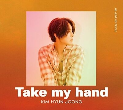 Kim Hyun Joong Take my hand First Limited Edition Type A CD DVD Japan DNME-36