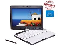 offered Fujitsu Hdmi Tablet Core i3 2.26GHz 8GB RAM, 128 SSD, WIN 7 Webcam Touchscreen