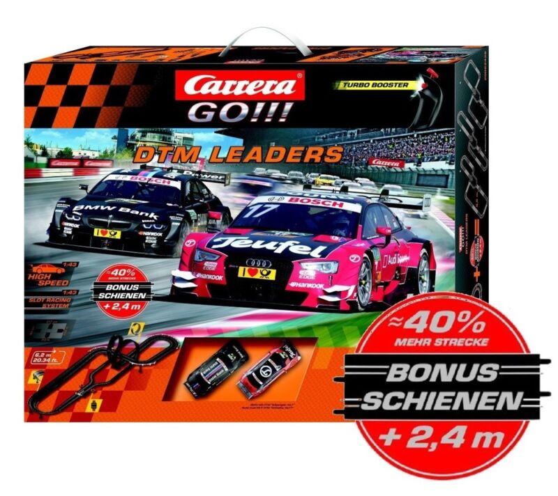 Carrera GO!!! DTM Leaders Aktionsset 6,2+2,4=8,6 Meter Streckenlänge