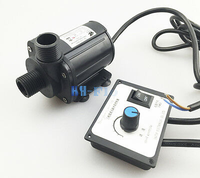 Hsh-flo Dc Water Pump 12v 3 Phase Hot Water Booster Pump 2200lh Amphibious