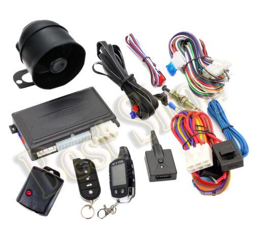 Scytek A4.2W COMPLETE CAR AUTO Digital REMOTE ENGINE START Car ALARM