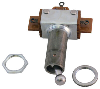 On-on Or On-off Toggle Switch Dpdt 1 Long Extended Neck Bushing Thread 35-099-7