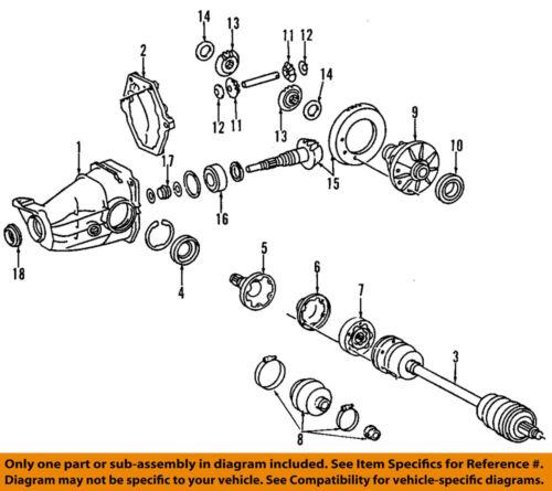 For 1986-1993 Mercedes 300E Pinion Shaft Nut Febi 38715MN 1987 1988 1989 1990