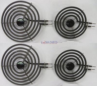 Mp22ya Electric Range Burner Element Unit Set 2  Mp15ya 6  2  Mp21ya 8