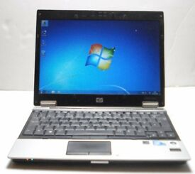 HP Elitebook 2530p Intel Duo Core 1.87 GHz 12'' Hard disc 120GB Windows 7
