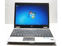 HP Elitebook 2530p Intel Duo Core 1.87 GHz 12'' Hard disc 120GB Windows 7