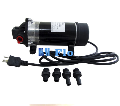 New 120v 160psi High Pressure Misting Pump Booster