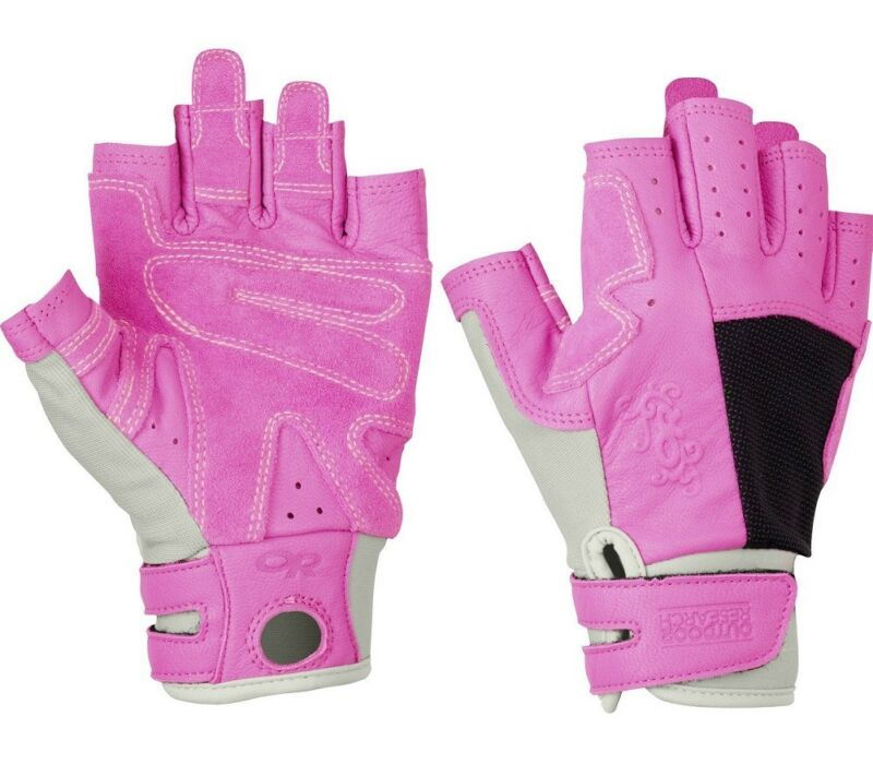 Outdoor Research Women Seamseeker Large Gloves Cairn/Crocus for Climbing