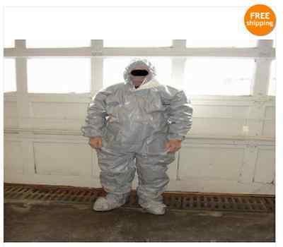 Case 12 Tychem Tyvek Proshield Cpf2 Gray Coveralls C2 Xl Hazmat Suit Dupont