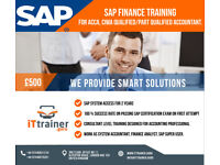 ACCA, CIMA,AAT STUDENT/PROFESSIONAL GET TRAINED IN SAP FINANCE FOR £500 AND EARN UPTO £300 A DAY,