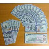 1x $100 Dollar Bill - Novelty-Movie Props-Fake Money-Training-Joke - USA Seller