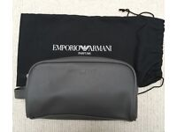 Emporio Armani Wash Bag/Travel Bag/Toiletry Bag