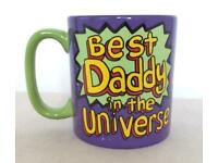 🚀 🌎 Best Daddy in the Universe Mug Fathers Day Gift 🎁