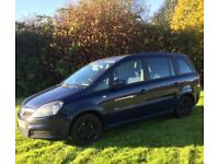 57 Vauxhall Zafira 1.9 Dti *DIESEL*7 Seats*NEW MOT* May Part x for Smaller Car*BARGAIN £1395!!