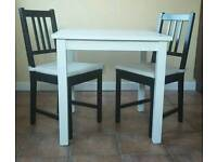 Ikea table&two chairs