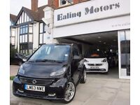 2013 SMART FORTWO BRABUS,CONVERTIBLE,FULL OPTION,SATNAV,HEATED LEATHER SEATS,SURROUND SYSTEM,1 OWNER