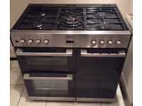 Belling DB4 90DF Dual Fuel Double Oven Range Cooker with Warranty