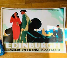 LNER Vintage Travel Poster