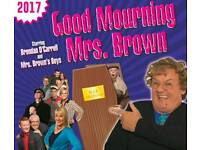 2 Mrs Browns Boys Live Tickets