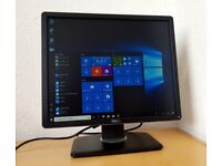 "Mint Dell 19"" LED hd Monitor,Dvi,Vga,Display port for PC Computer,CCTV etc"