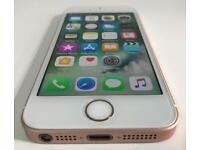 iPhone SE 16GB rose gold lock to Vodafone and lebara UK networks!