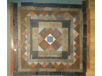 Minton Floor to fit porch