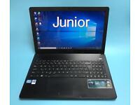 Asus i3 VeryFast 4GB, 320GB Slim HD Laptop, Win 10, HDMI, Microsoft office, Excellent Cond