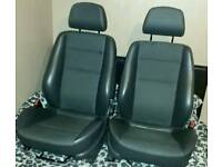 Astra mk5 half leather seats