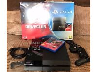 PS4 500gb with Driveclub