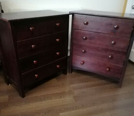 Twin chest of drawers